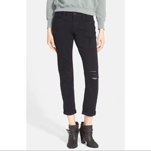 NWT FRAME Le Garcon Mid-Rise Straight Jeans, 25